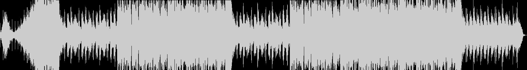 和をイメージした癒し系バラード曲の未再生の波形