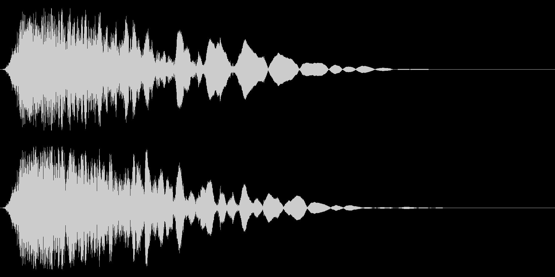 刀や剣 抜刀 斬撃の効果音 11cの未再生の波形