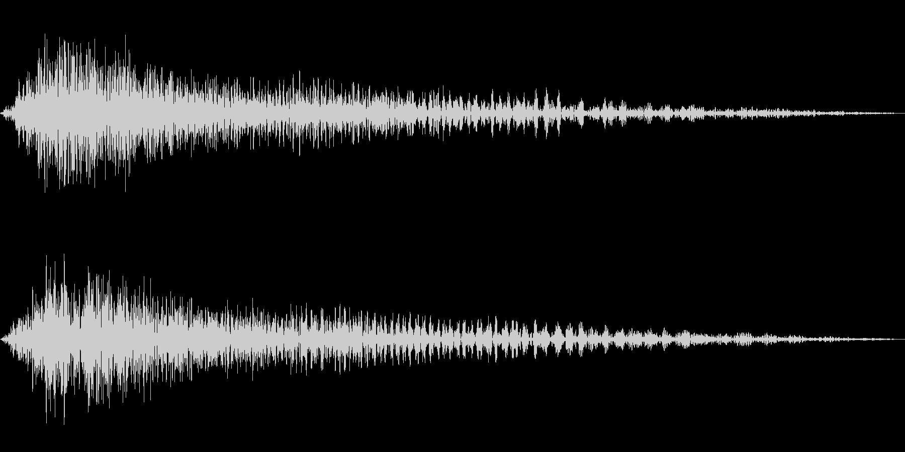 ゲーム用:キャンセル音「シュンッ」の未再生の波形