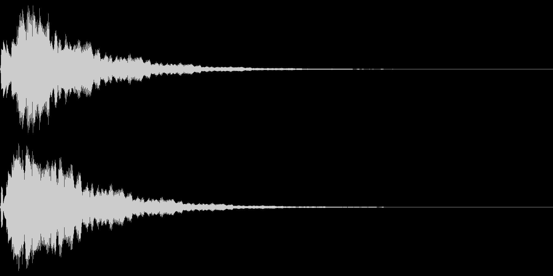 サウンドロゴ12(ベル系)の未再生の波形