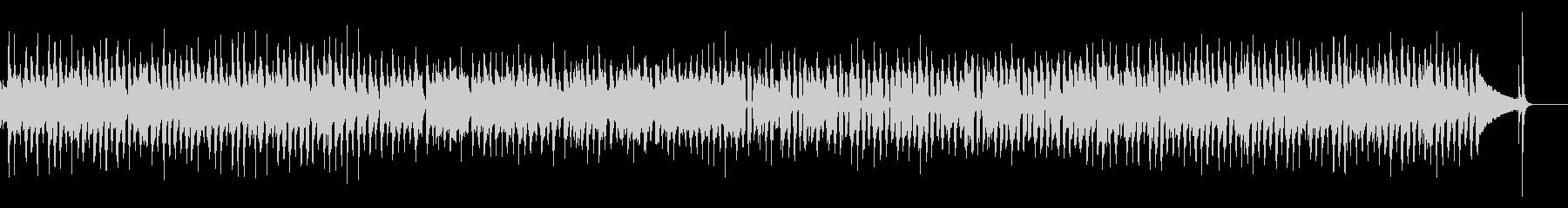 【生音】クリーンギターのロックインストの未再生の波形