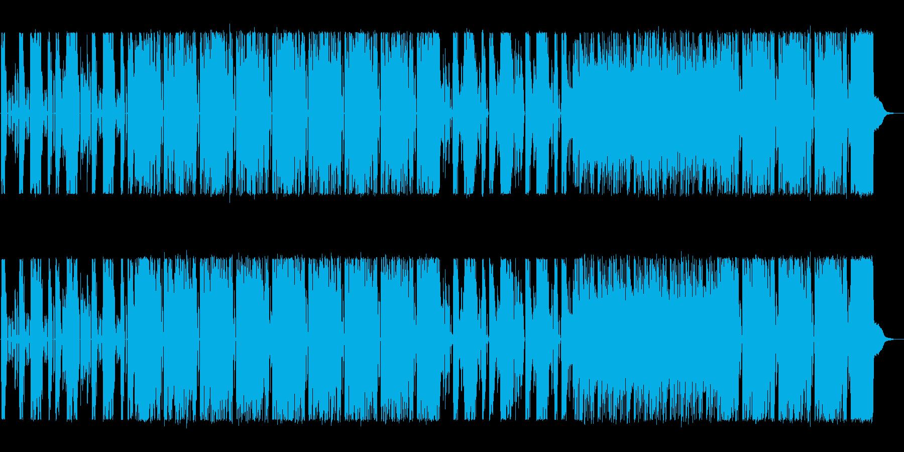 ロックのテクニック満載のサウンドの再生済みの波形