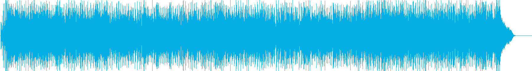 軽快 楽しい いきいき 前進 躍動 空の再生済みの波形