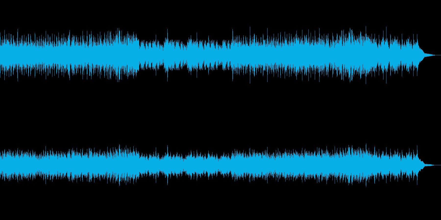 雪の日の神秘的なイメージをソロ・ピアノでの再生済みの波形