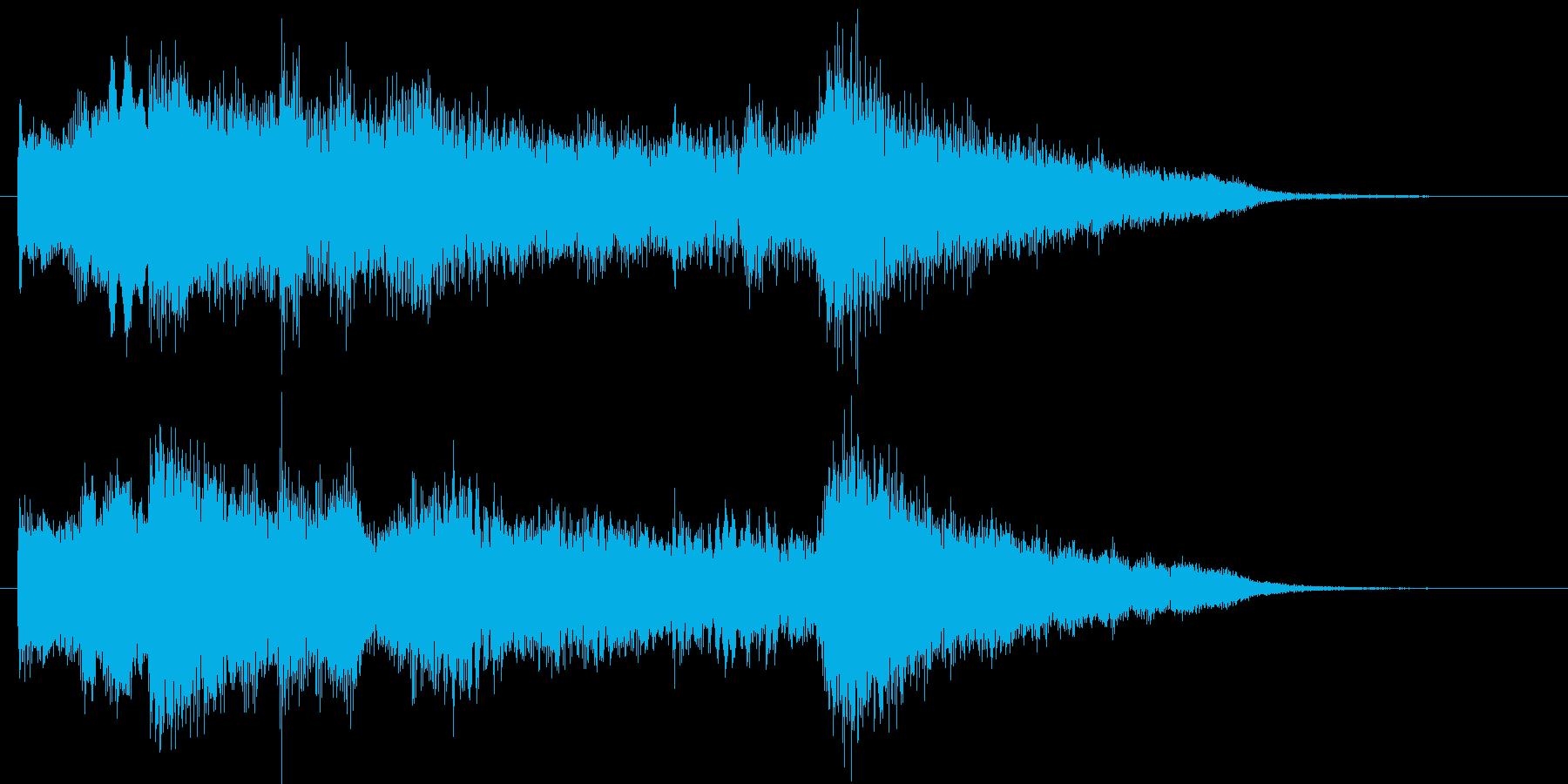 RPG_場面転換1の再生済みの波形