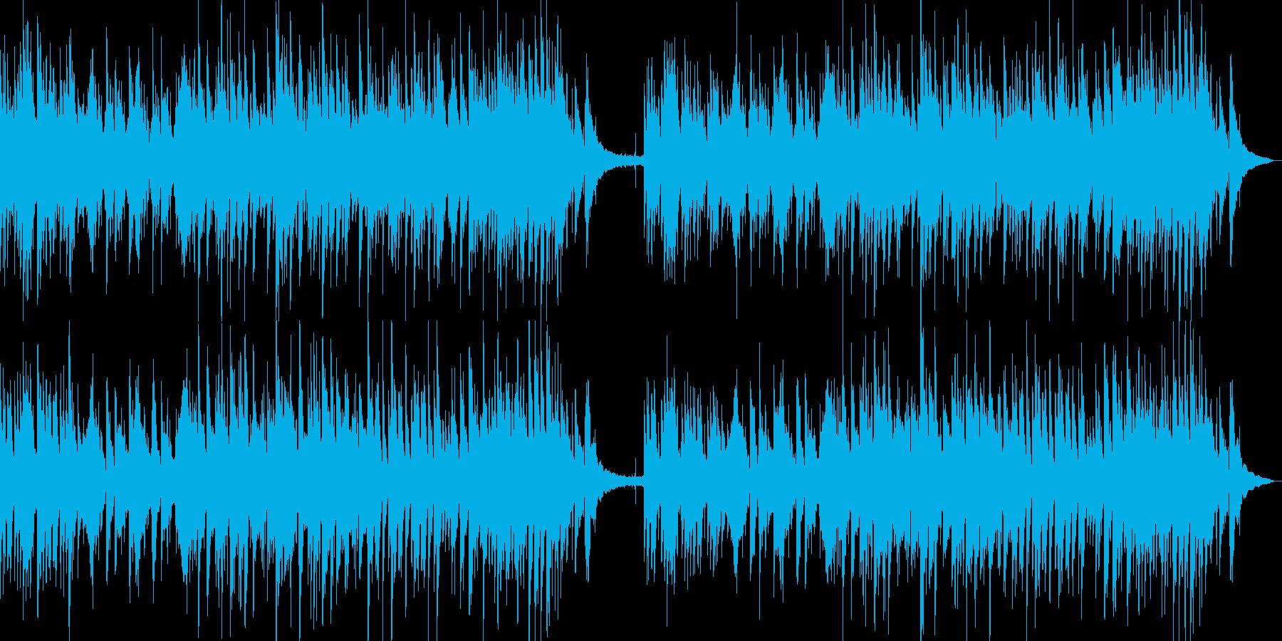 夏にぴったりなさわやかなインストの再生済みの波形