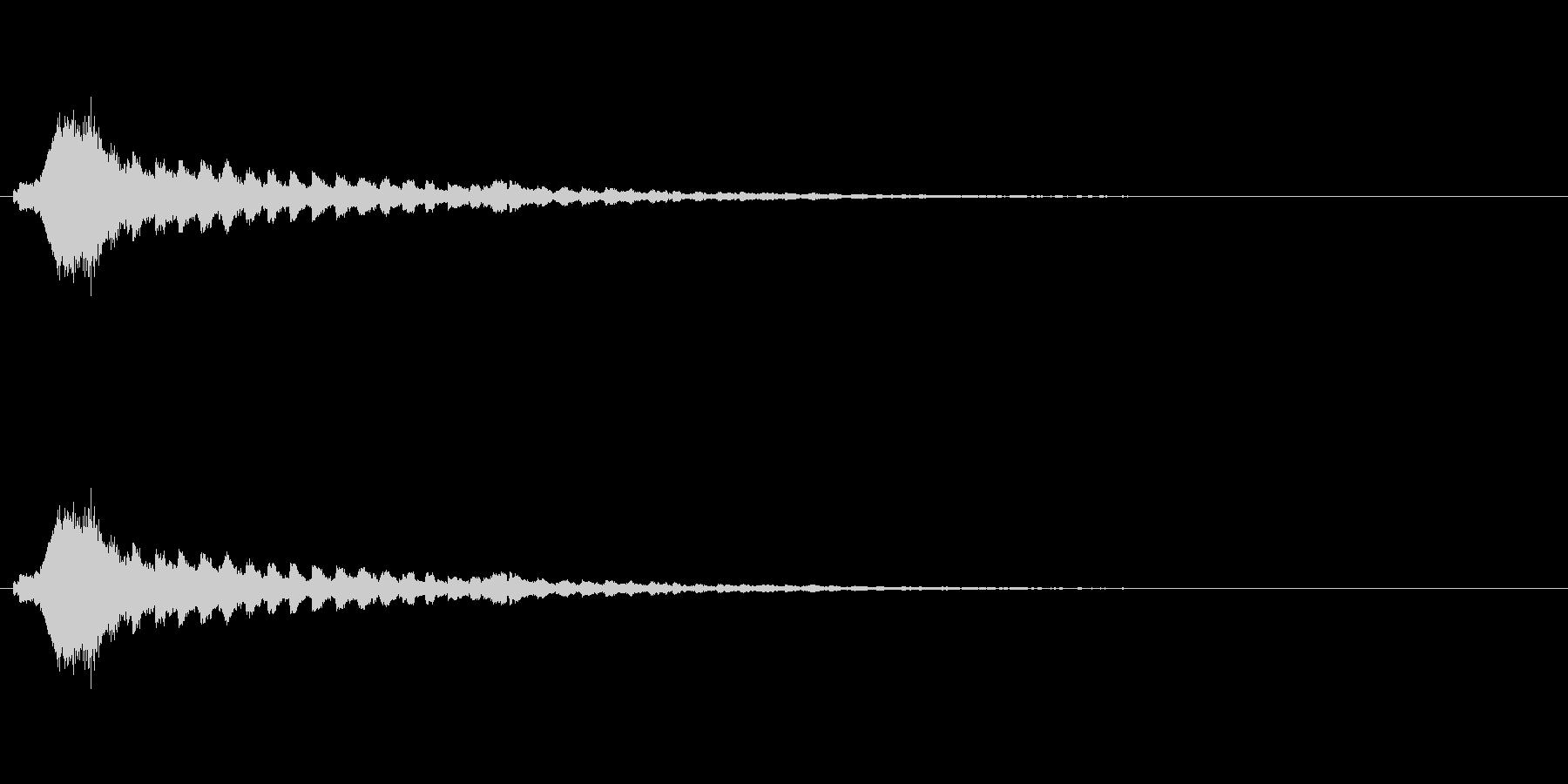 【ショートブリッジ11-3】の未再生の波形