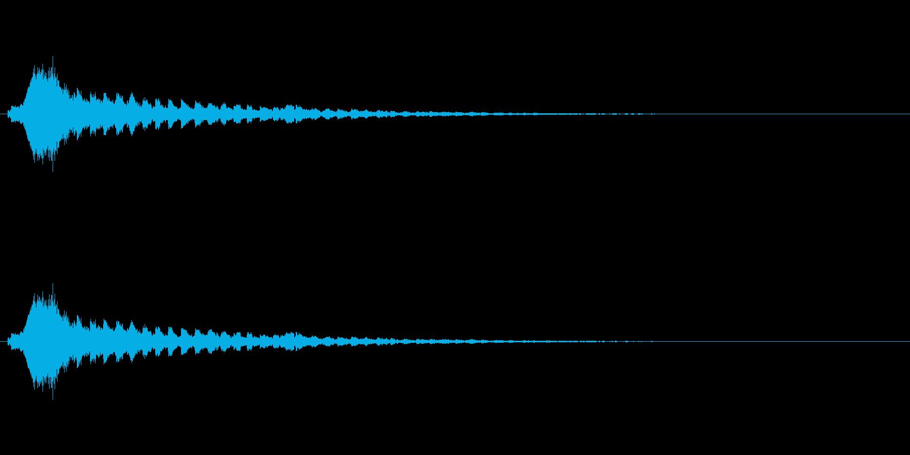 【ショートブリッジ11-3】の再生済みの波形