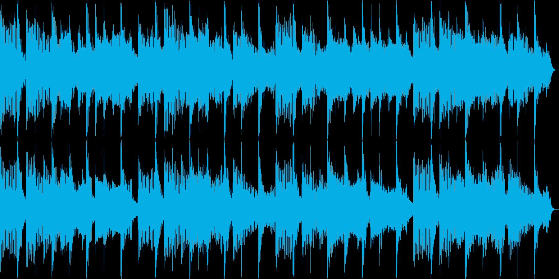 15秒CM 陽気でほのぼのしたイメージの再生済みの波形