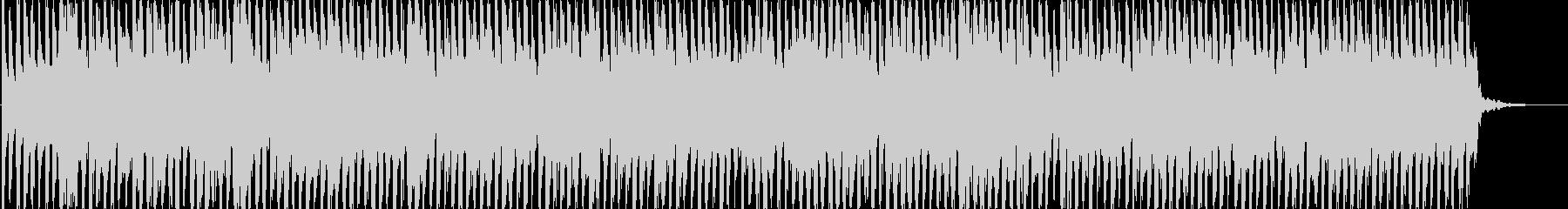 ファミコンゲーム風BGMの未再生の波形