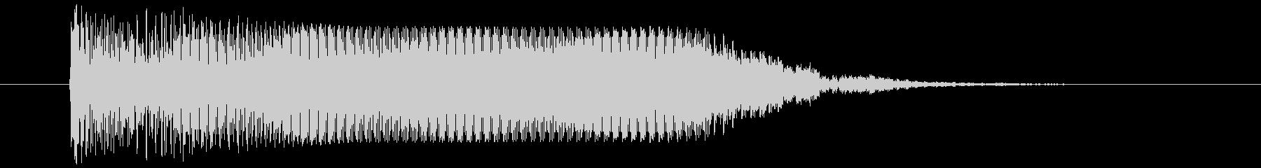 カウント ブー ぶー アラームやレーダーの未再生の波形