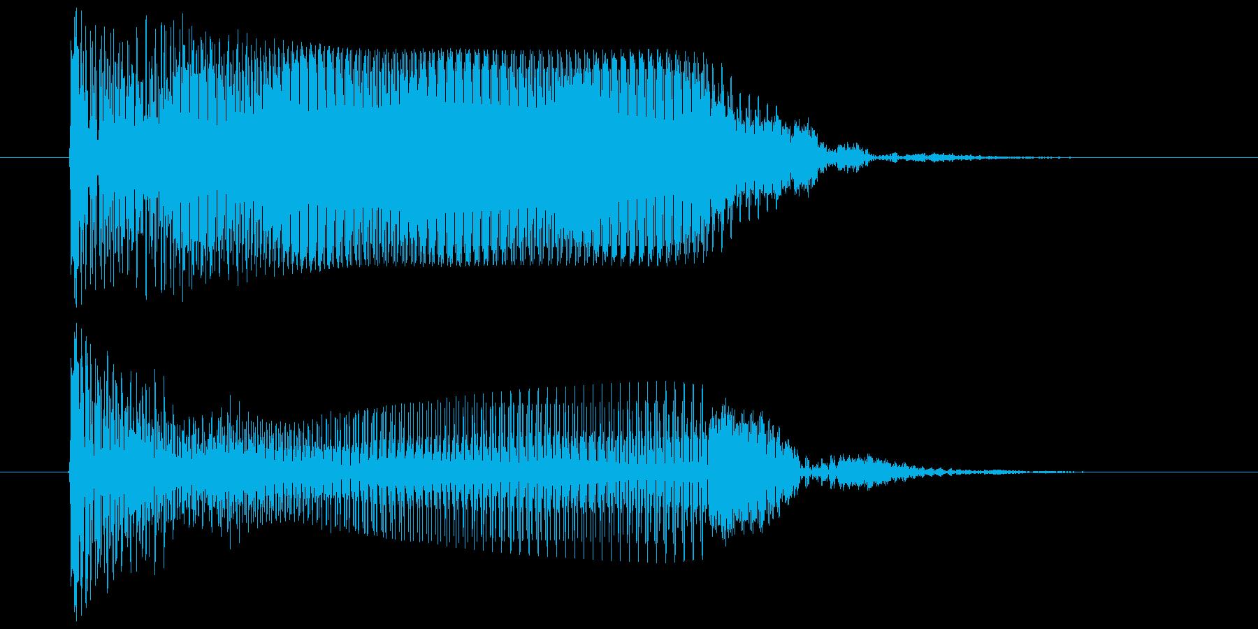 カウント ブー ぶー アラームやレーダーの再生済みの波形