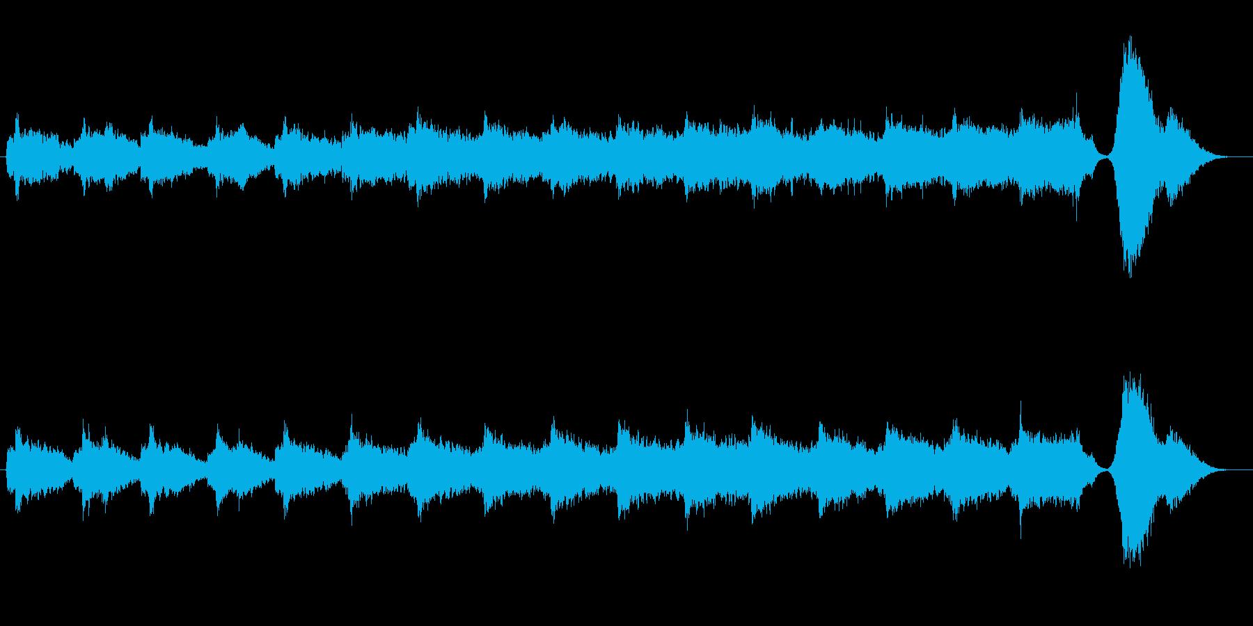 ミステリー、ホラー向き楽曲。高音の弦楽…の再生済みの波形