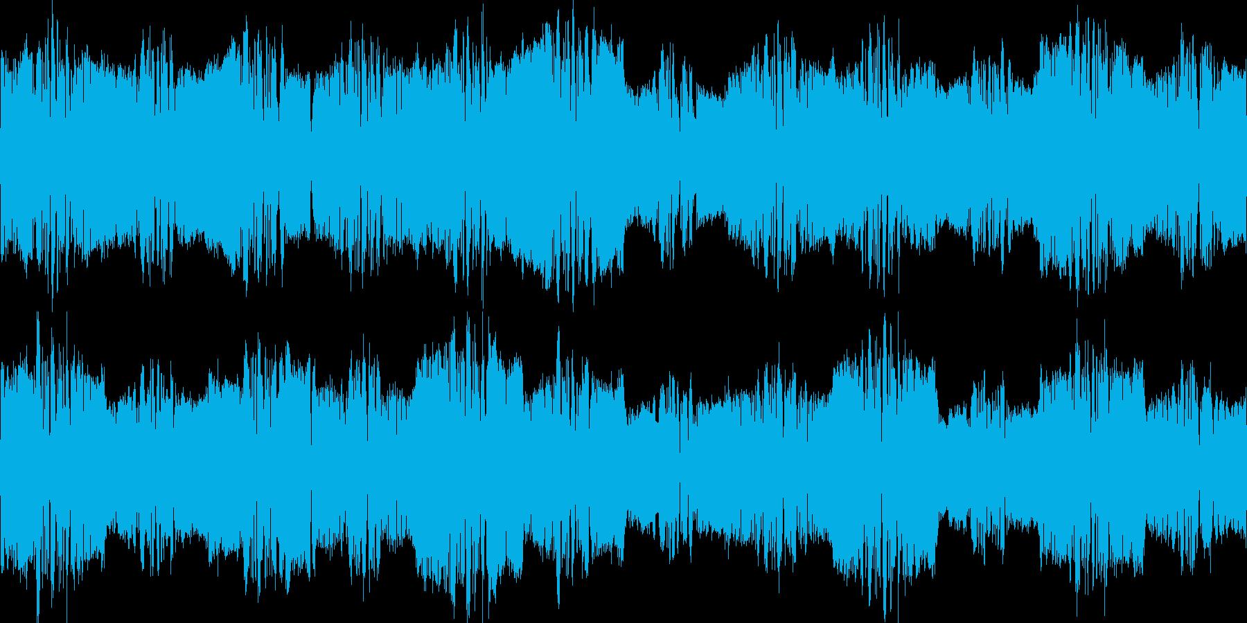 ワウワウぐるぐる不思議疑問浮遊系の再生済みの波形