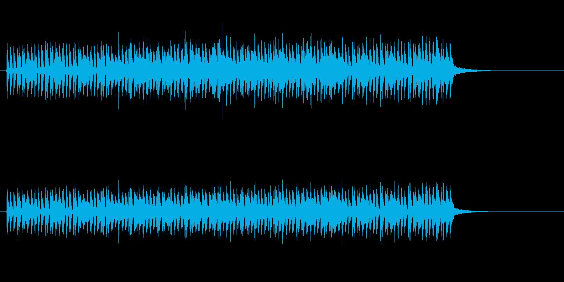 響きが美しいテクノポップの再生済みの波形