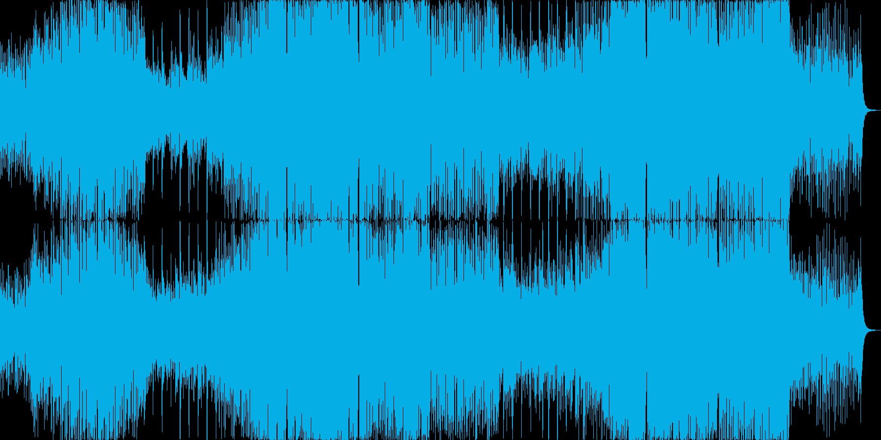シンプルでメロディックなEDMの再生済みの波形