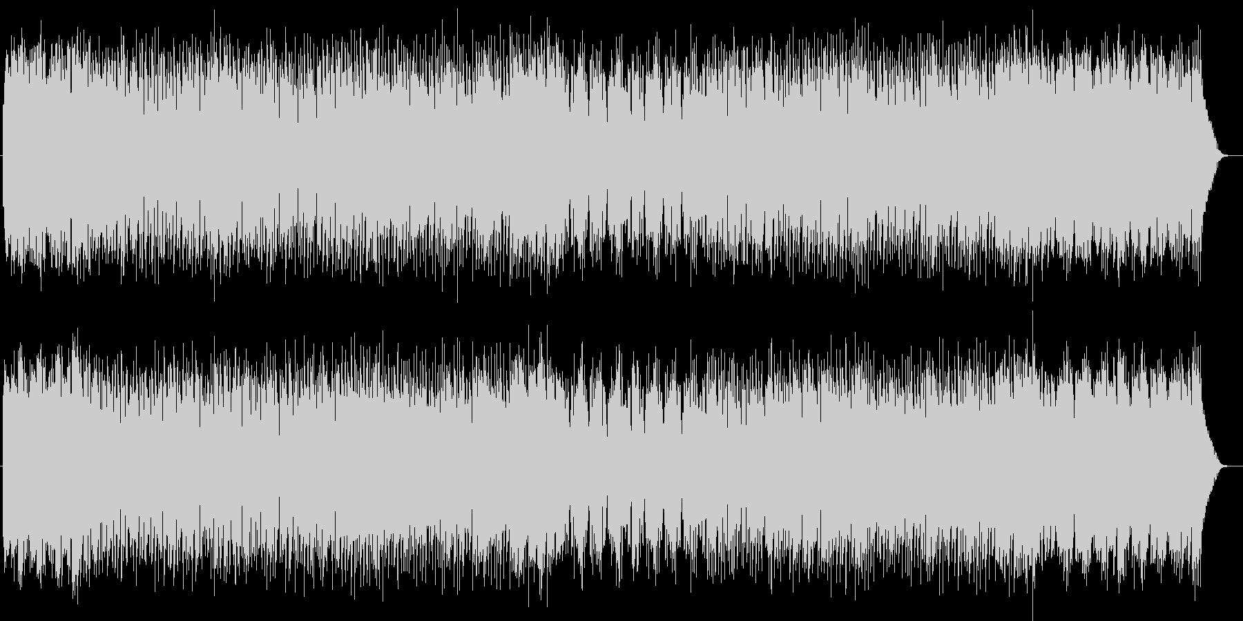 メルヘンチックなシンセポップスの未再生の波形