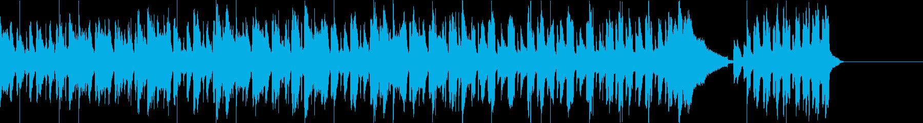 コミカル かわいいの再生済みの波形