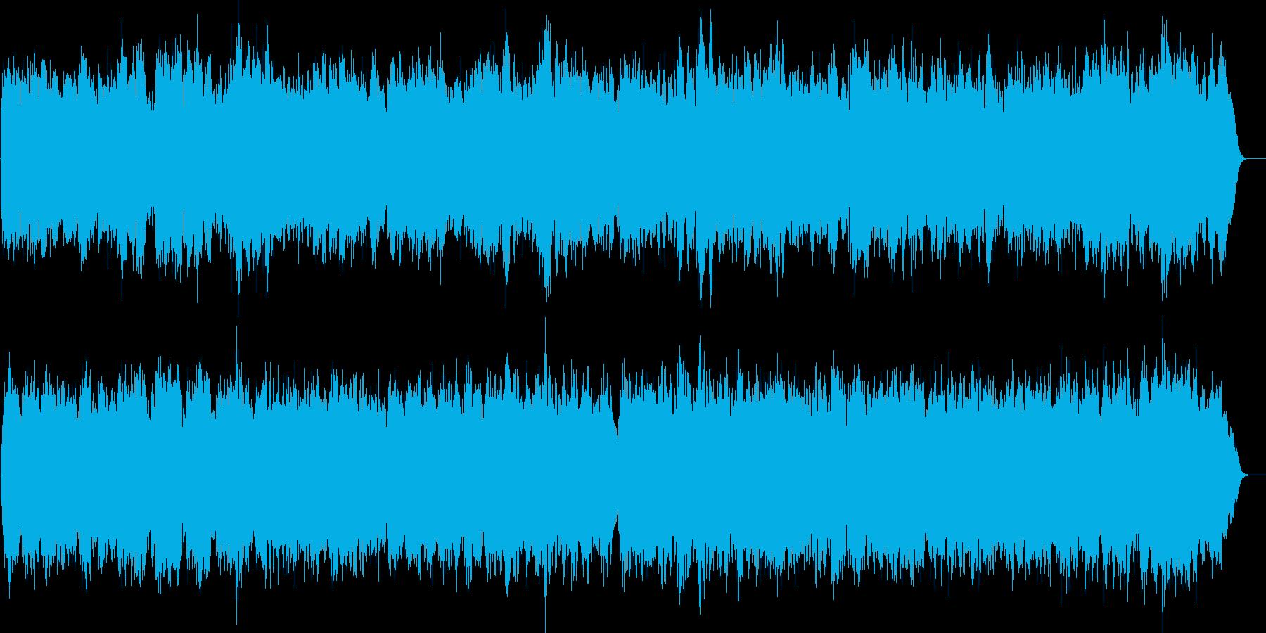 四声のブラスアンサンブルオリジナルの再生済みの波形