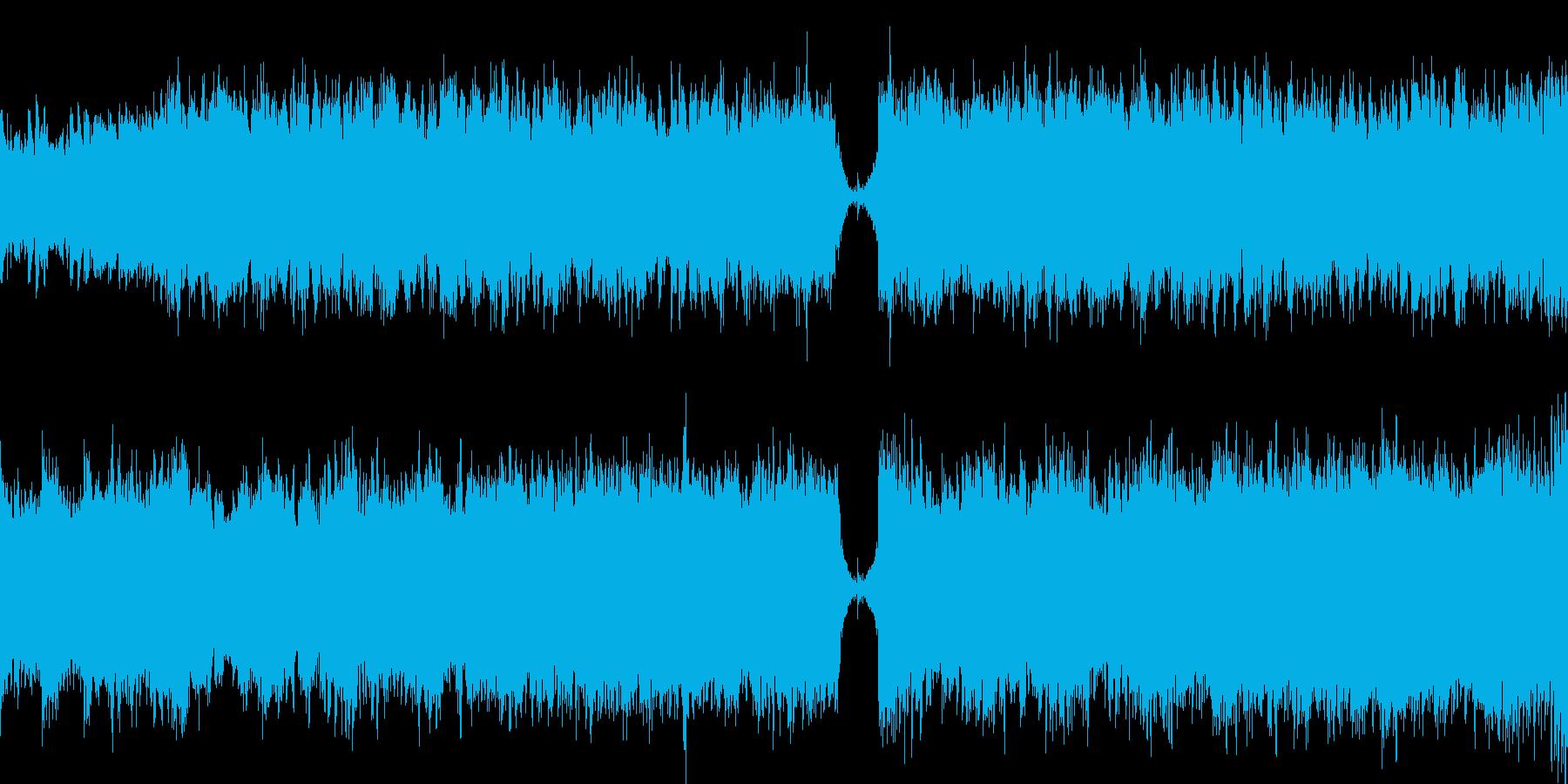 ボーカル入り幻想的/ループ可バスドラ無しの再生済みの波形