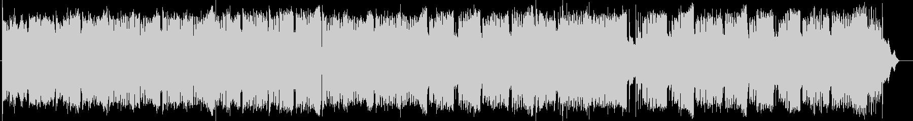 ワルツのリズムの綺麗なゴスペル風曲の未再生の波形
