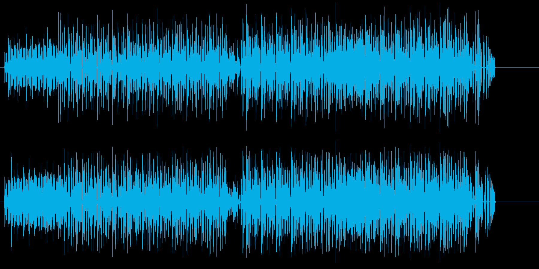 都会的センスのエレクトロポップの再生済みの波形