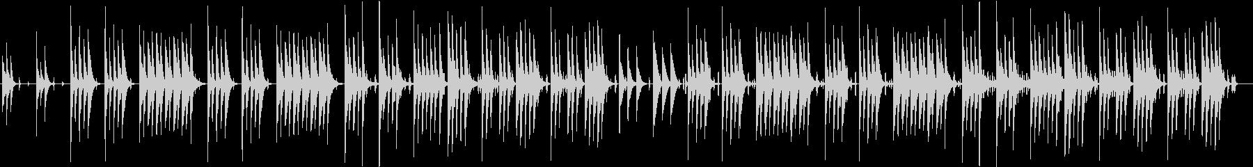木琴がメインのほのぼのとした短めの曲の未再生の波形