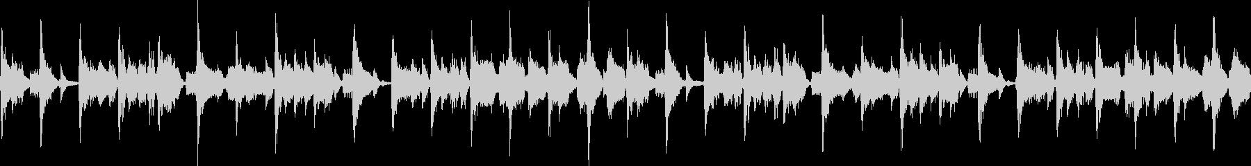 ノリの良いファンクジングル_ループの未再生の波形