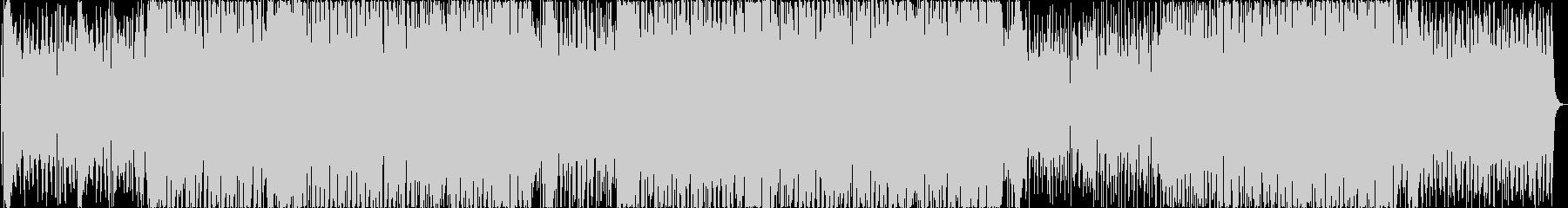 疾走感のある爽やかなアコギ サンバポップの未再生の波形