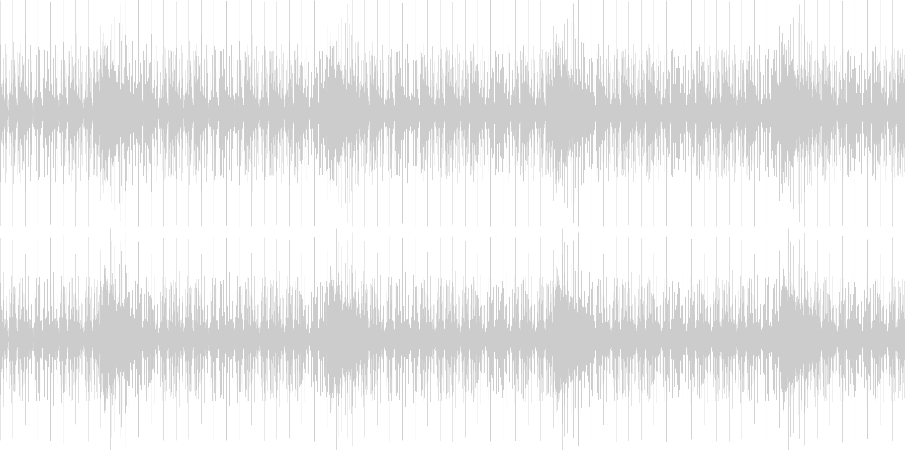【アフリカ大草原・ドキュメンタリー】の未再生の波形