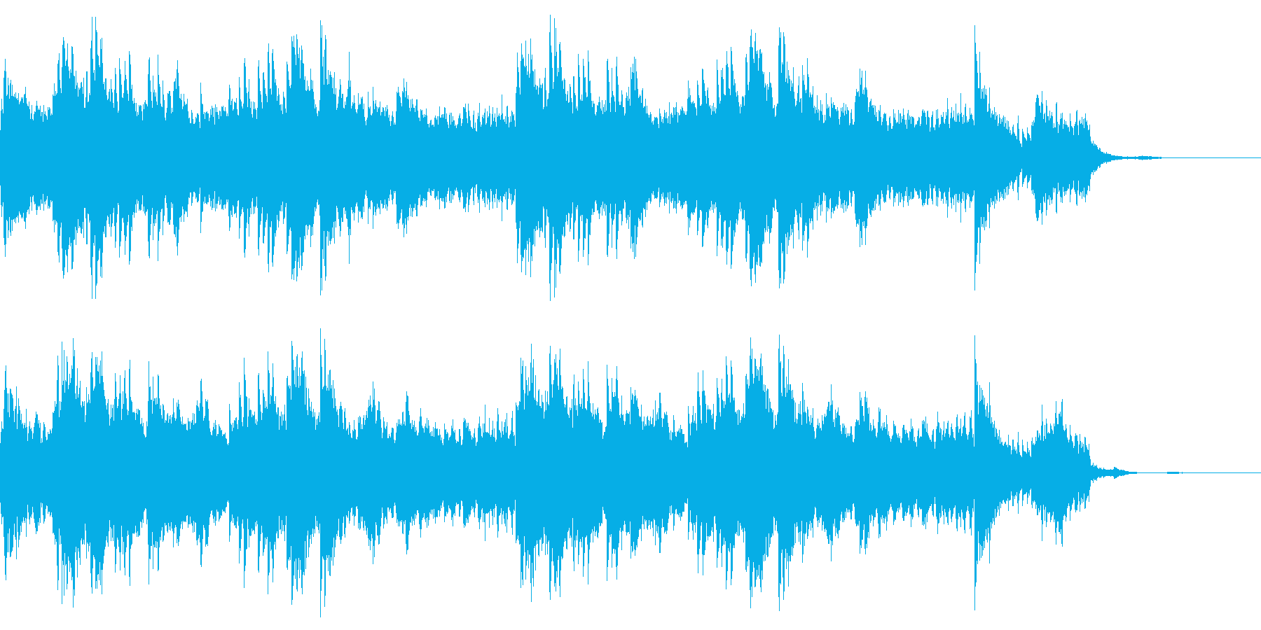 ミステリアスで美しいオルゴール 神秘の再生済みの波形