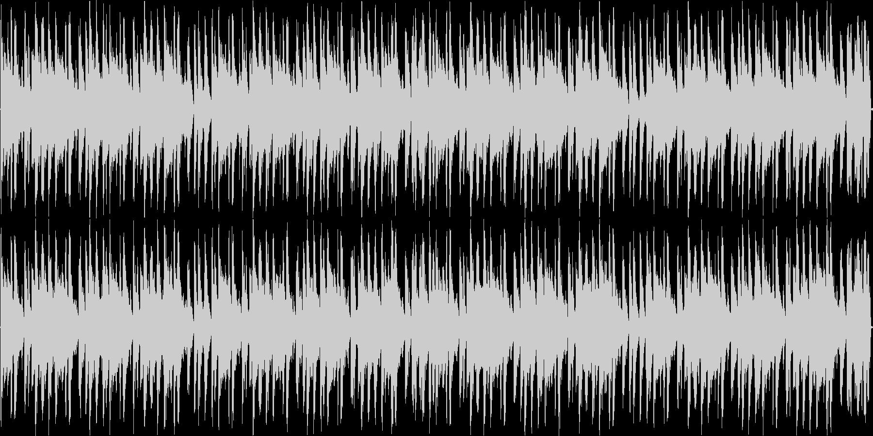 アシッドジャズの未再生の波形