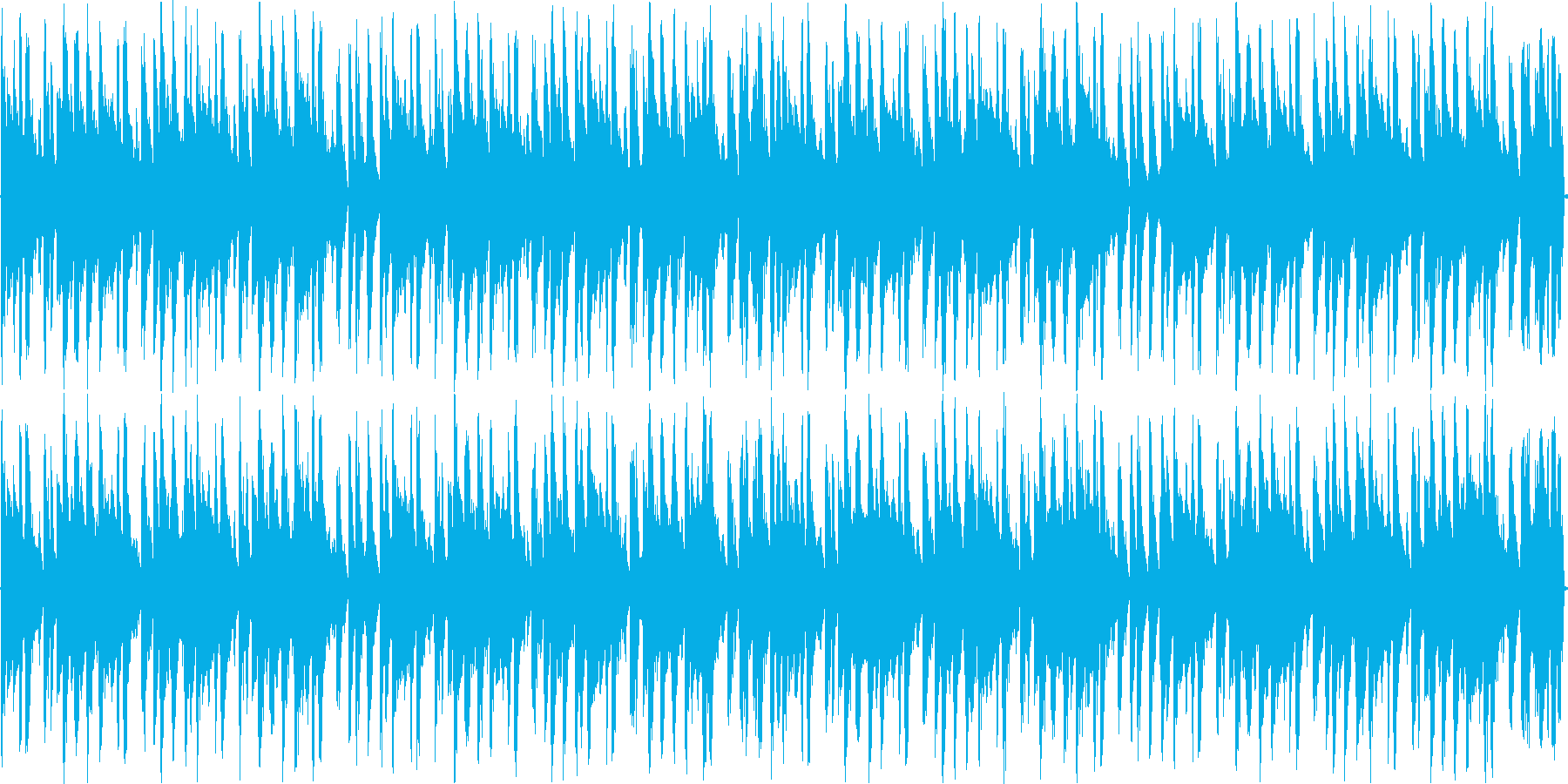 アシッドジャズの再生済みの波形