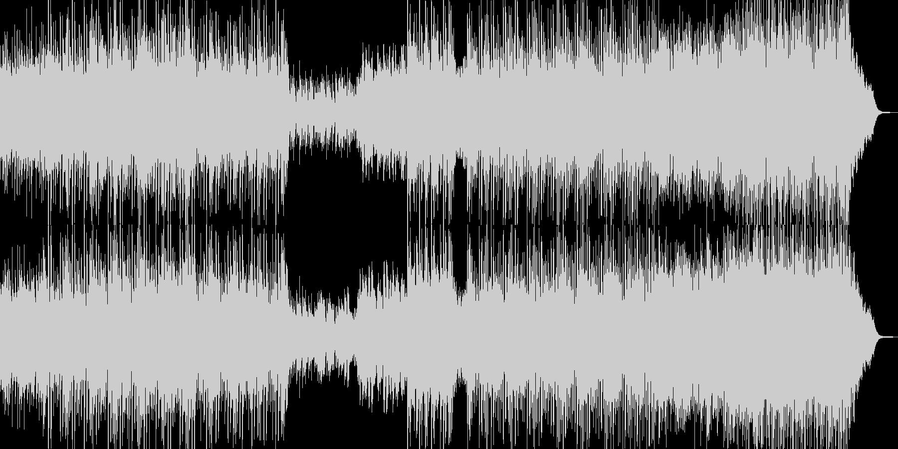 何処か優しくキラフワなBGMの未再生の波形