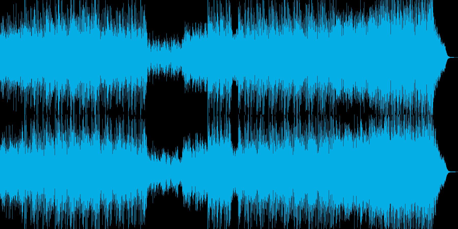 何処か優しくキラフワなBGMの再生済みの波形