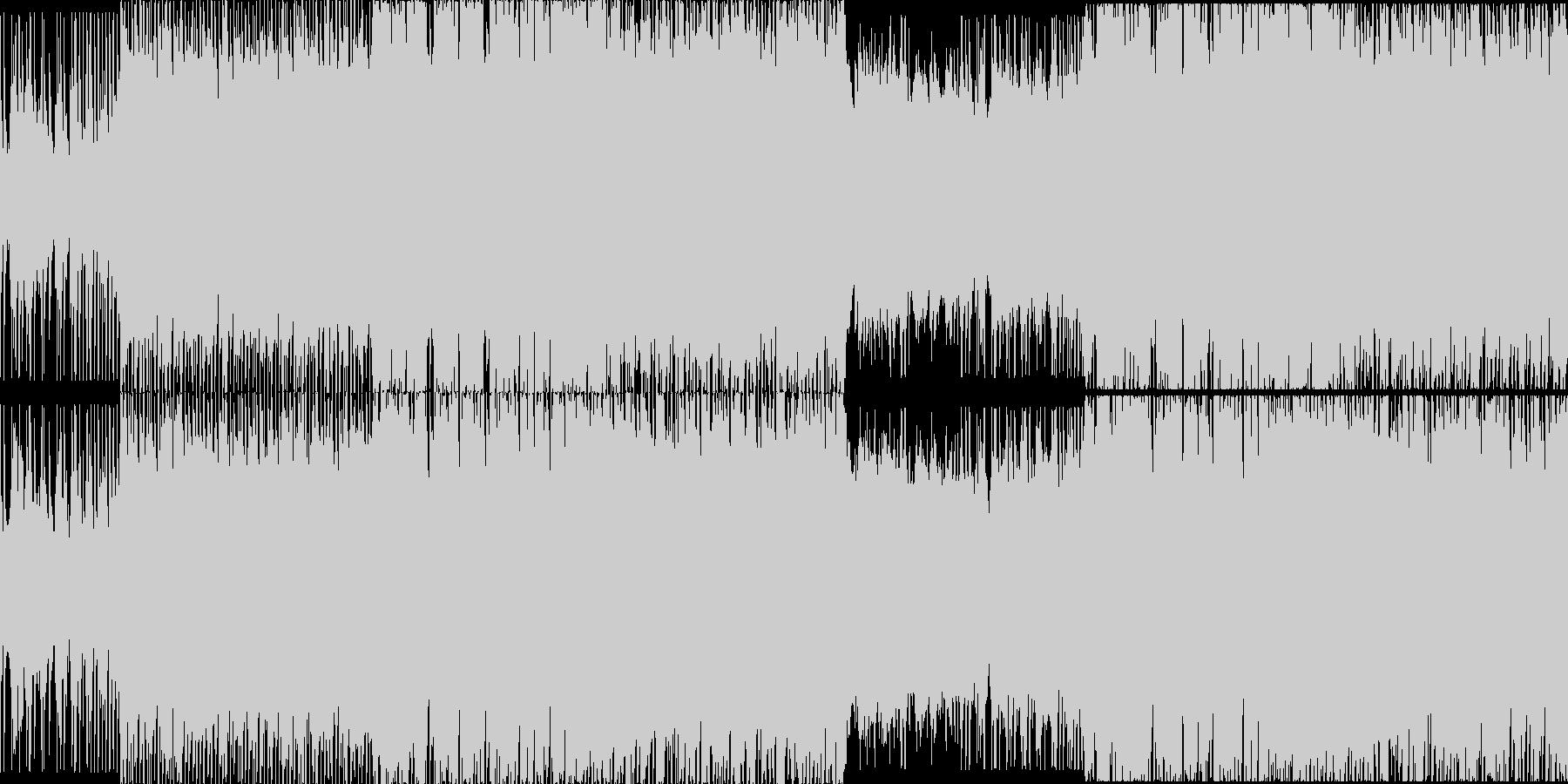 爽やかで楽しげなアコギインストループの未再生の波形