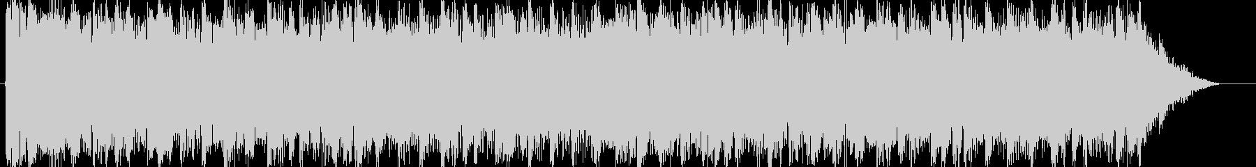 15秒用 ロック系 BGMの未再生の波形