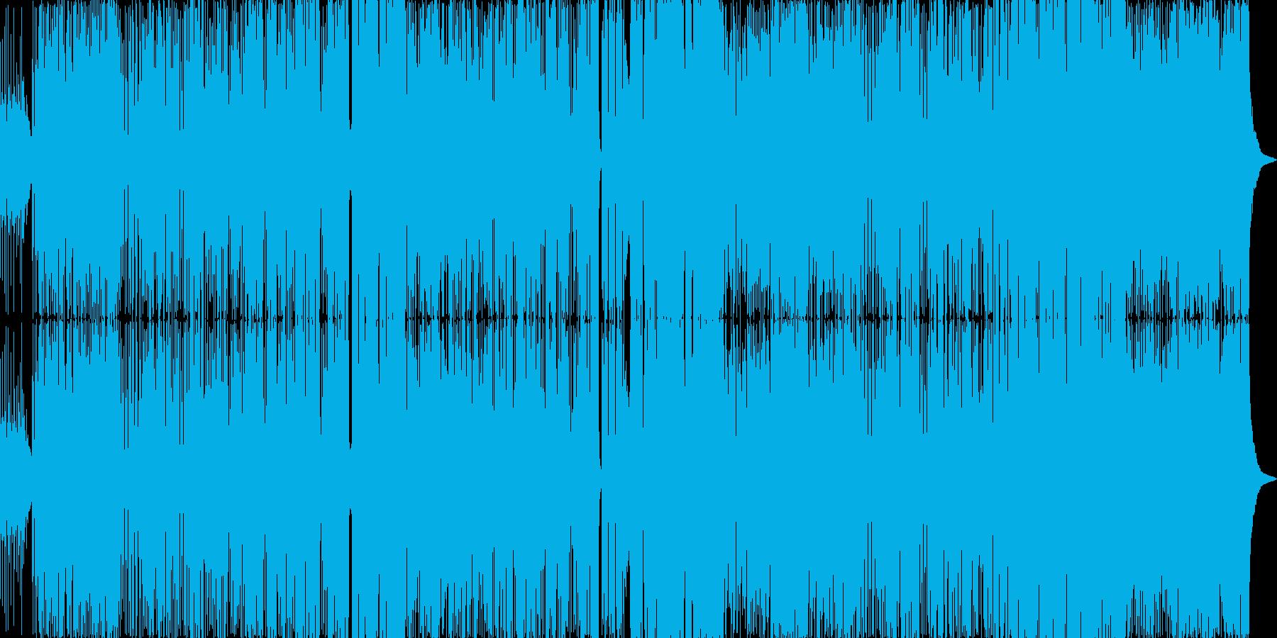 「強さ」と「切なさ」を歌ったハードポップの再生済みの波形