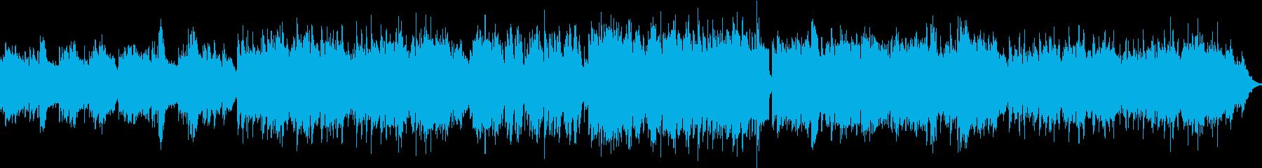 キラキラしたサウンドで、ナレーションの…の再生済みの波形