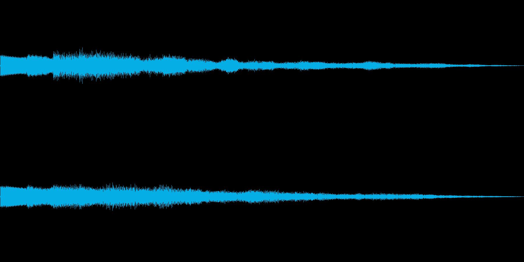 ピロリローン キラキラーン ボタン 01の再生済みの波形
