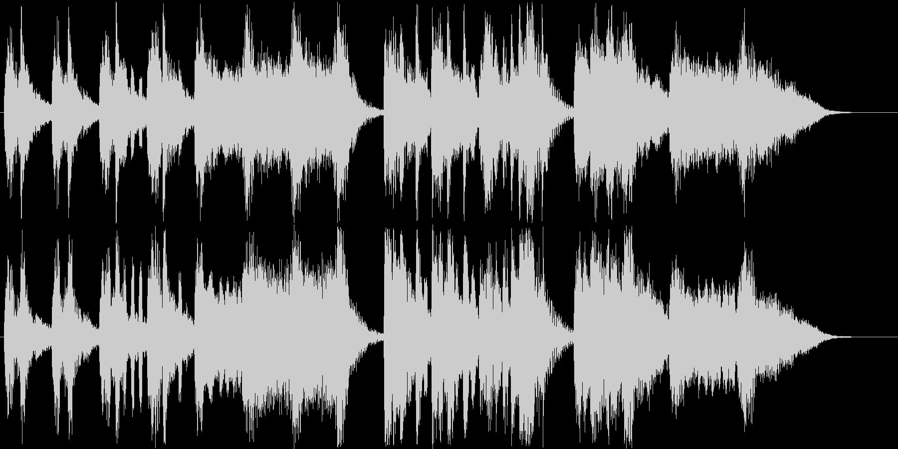 メルヘンなシンセなどの短めサウンドの未再生の波形