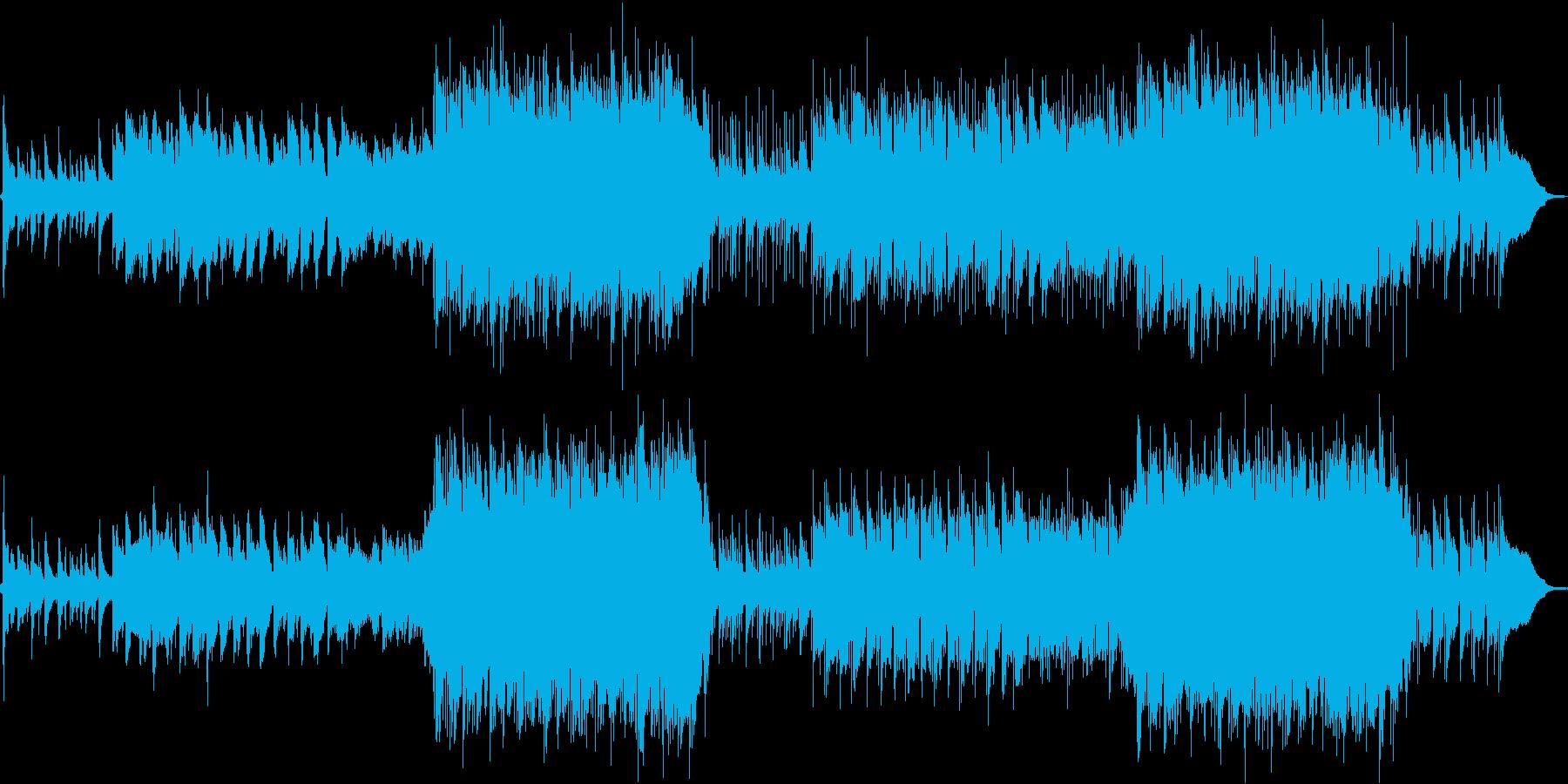 和風幻想曲 古楽器とボーカルアンビエントの再生済みの波形