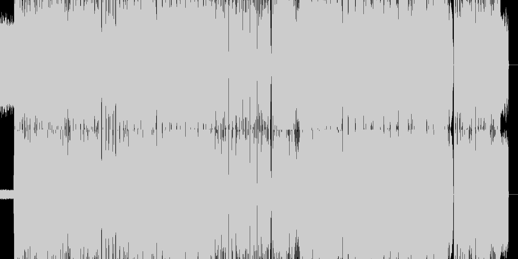 生音。爽快なギターポップの未再生の波形