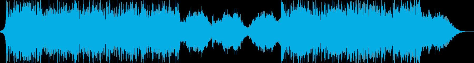 ハリウッド風トレイラー リズム主体05の再生済みの波形