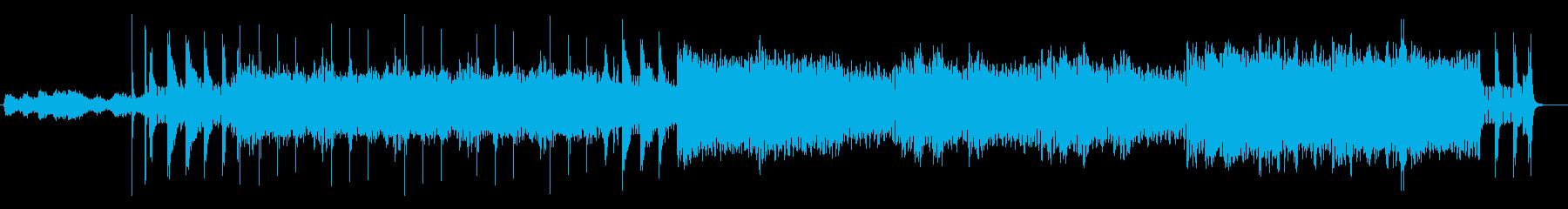 神秘的で幻想的なジャングルサウンドの再生済みの波形