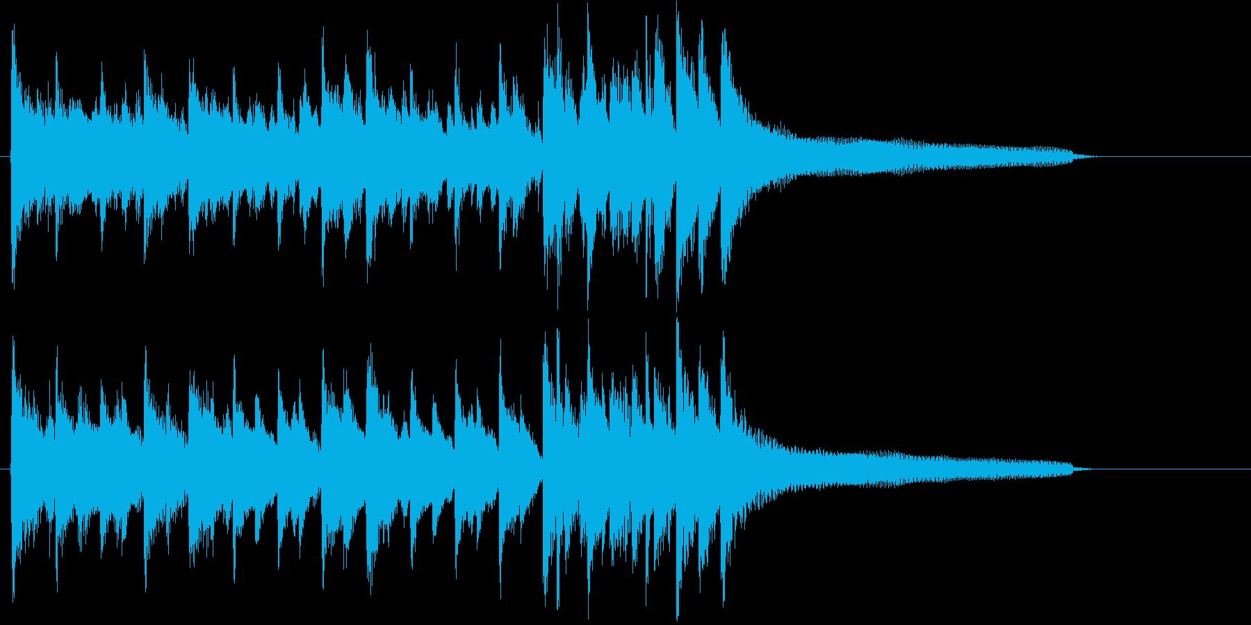 口笛メロディ&ハッピーポジティブロゴ!の再生済みの波形