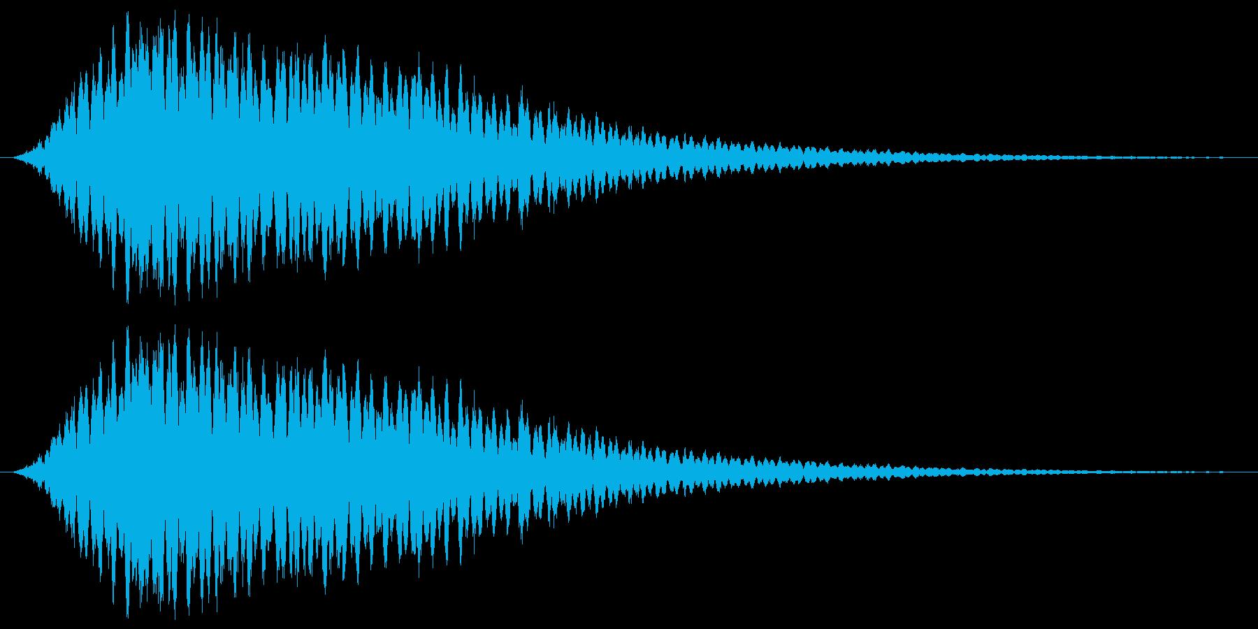 シャララーン キラキラ 魔法の再生済みの波形