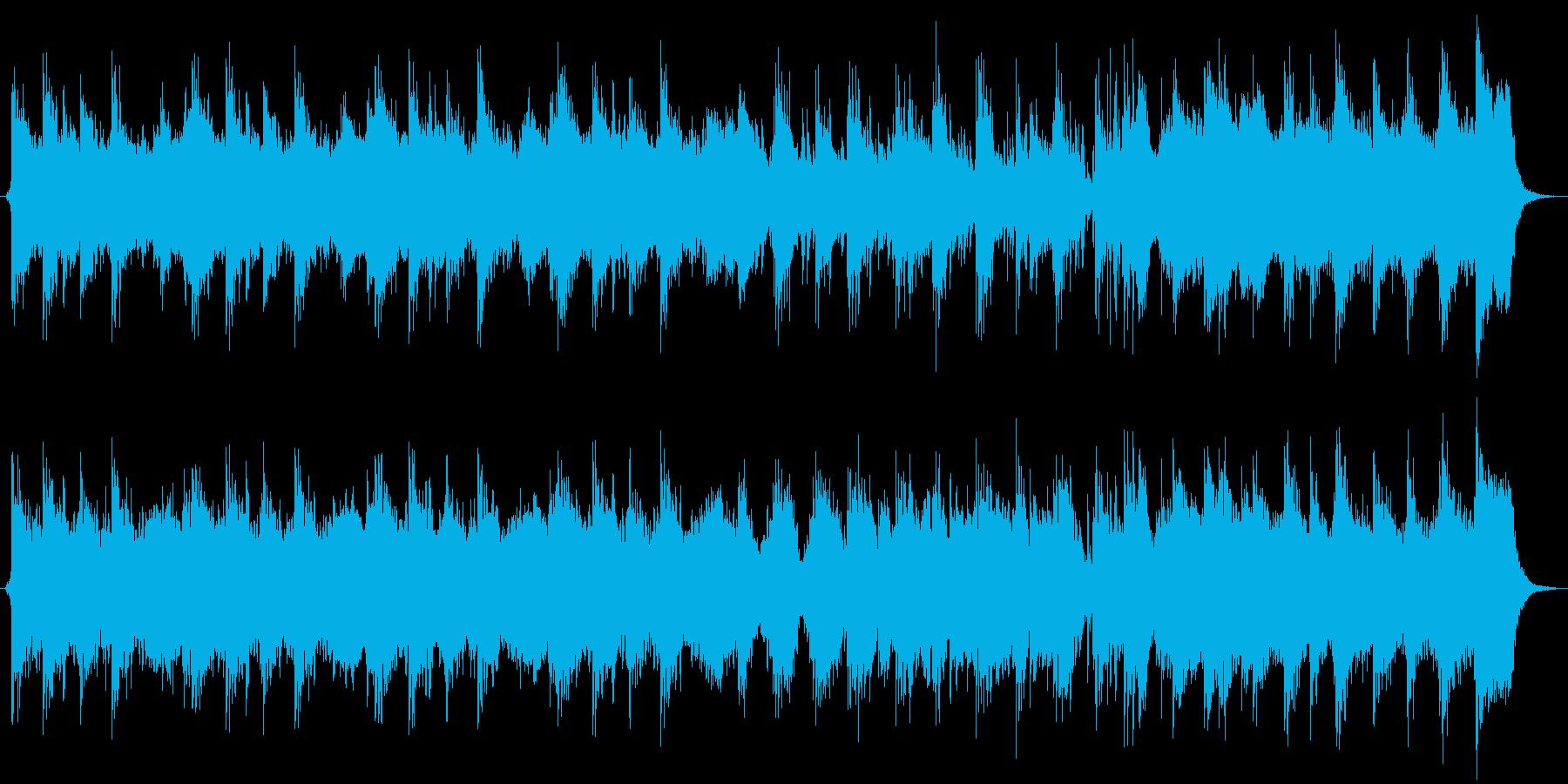 荘厳なダークファンタジー・オーケストラの再生済みの波形