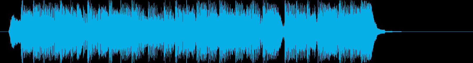 ほのぼのしたキャラ アイキャッチの再生済みの波形