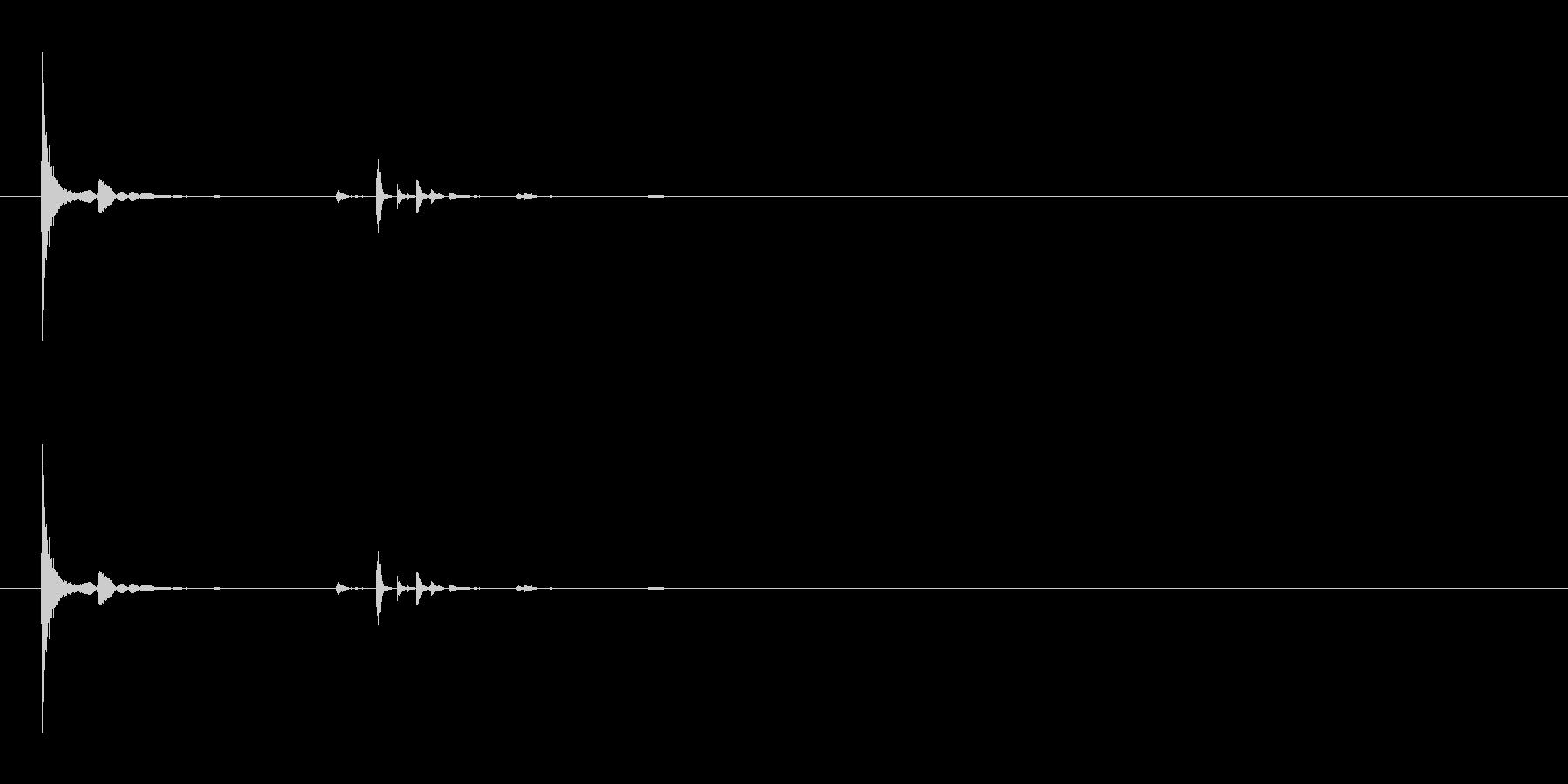カランコロン12の未再生の波形